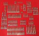 ALLOYBOLTZ - GM LS LS1 LS2 LS3 LS6 LS7 STAINLESS STEEL ENGINE ALLEN BOLT KIT