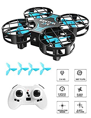 LENDGO Mini Drone for Kids Beginners,Flight Nano Drones For Children ,Remote Control Quadcopter,Headless Mode,Altitude Hold,3D Flips,One Key Return and Speed Adjustment