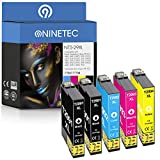 NINETEC NT5-29XL - Cartuchos de tinta compatibles con Epson T2991 T2992 T2993 T2994 29XL para XP-235 240 245 247 250 255 257 330 332 335 340 342 345 350 352 355 430 432 435 440 442 445 450 452 455.