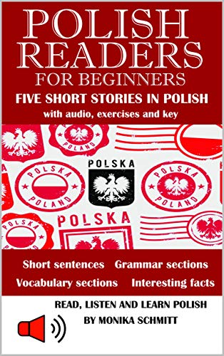 Polish Readers Five Short Stories In Polish : for Beginners; with...