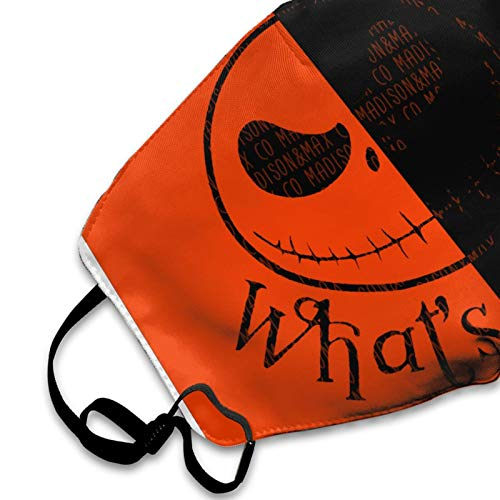 The Nightmare Printing Before Christmas Mask Comfortable Breathable Balaclava Washable Reusable Jack