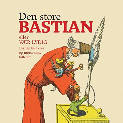 Den store Bastian audiobook cover art