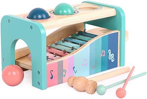 directo de fábrica LINGLING-tocar el piano Llamada Manual en en en el Piano Octava Música Juguete Instrumento de percusión Niños Xilófono Rompecabezas (Color   verde)  comprar ahora