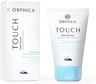 ORPHICA TOUCH Handpeeling met cranberryzaadjes en sheaboter, natuurlijke cosmetica voor gebarsten handen, verzorging voor ...