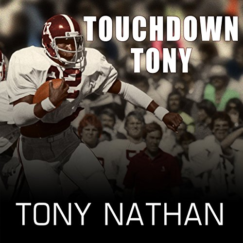 Touchdown Tony audiobook cover art