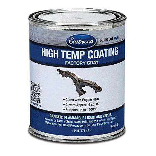 Eastwood Factory Finish Gray High Temperature Durability Coating 1 Pint Aerosol
