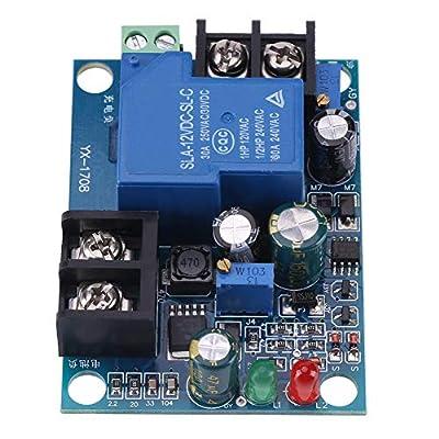 12V/24V/36V/48V Battery Charger Controller, 30A Automatic Battery Charger Charging Controller Battery Charging Protection Module(36V)