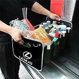 レクサス 車用収納ボックス 車トランク 収納ボックス オックス 折りたたみ 収納ケース Lexus 専用 高い質感 D-031
