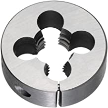 "Titan TE80828 High Speed Steel Adjustable Round Split Die, 1/4"" - 28"", 13/16"" Outside Diameter"