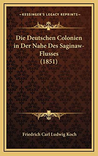 Die Deutschen Colonien in Der Nahe Des Saginaw-Flusses (1851)