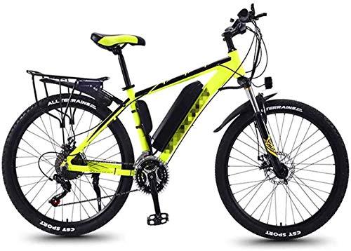 Bicicleta de montaña eléctrica, Bicicletas eléctricas bicicleta de la montaña, bicicleta de 26 pulgadas Neumáticos Bicicletas Boost suspensión bloqueable Tenedor de pantalla LCD for deportes al aire l