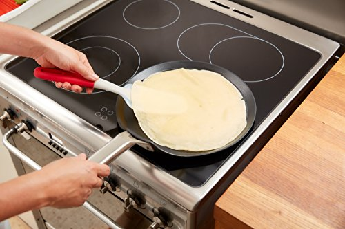 Lékué Crepes and Pancakes Kit, Red, 37.8 x 20.8 x 9.2 cm