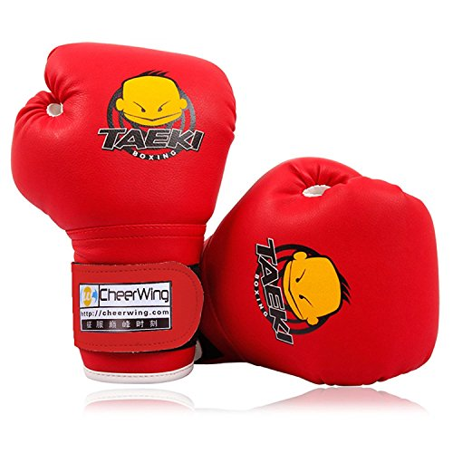 Cheerwing Kids Boxing Gloves 4oz Training Gloves for Youth and Toddler Punching Mitts Kickboxing...