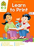 School Zone - Learn To Print Workbook - 32 Pages, Ages 5 to 7, Kindergarten, 1st Grade, 2nd Grade, Printing Letters, Numbers, Letter Recognition, and More (School Zone I Know It!® Workbook Series)