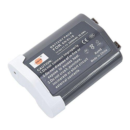 DSTE Replacement for EN-EL18 Li-ion Battery Compatible Nikon D4 D4S D5 Camera D500 D800 D800E D810 D850 Battery Grip
