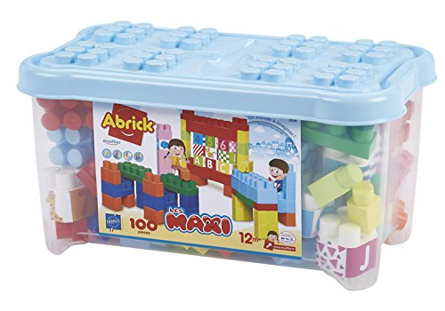 Les Maxi Spielzeug Ecoiffier – Koffer mit Zahlen und Buchstaben, Abrick, 7839