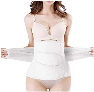 Postpartum Girdle C-Section Recovery Belt Back Support Belly Wrap Belly Band Shapewear,Waist Girdle Support Band Belt Body Shaper