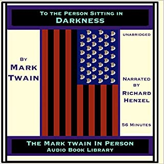 To the Person Sitting in Darkness audiobook cover art