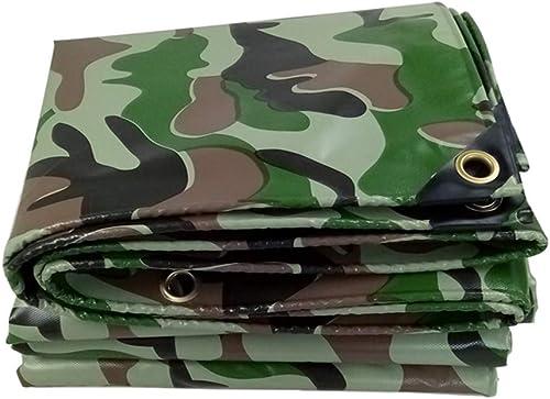 Bache Tarp Camo Heavy Duty Tarpa Tar en Polyester imperméable épaisse pour Camping-Car avec Oeillets (Taille   3X5m)