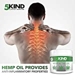 Hemp Joint & Muscle Active Relief Gel- High Strength Hemp Oil Formula Rich in Natural Extracts by 5kind. Soothe Feet… 8