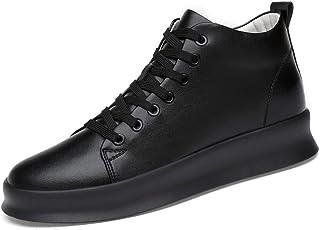 """DADIJIER Zapatos de elevación Taller de 3""""(8 cm) para Hombre Zapatillas de Moda con Altura Invisible Plantillas de Microfi..."""