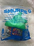 MCDONALDS 2017 SMURFS THE LOST VILLAGE #3 Light Green House with Smurf Friends