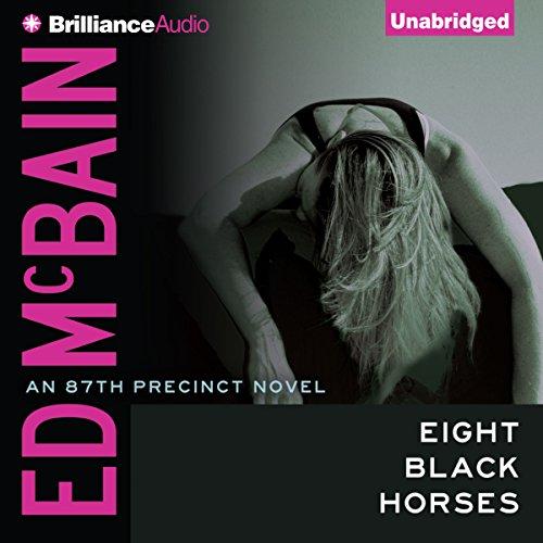 Eight Black Horses audiobook cover art