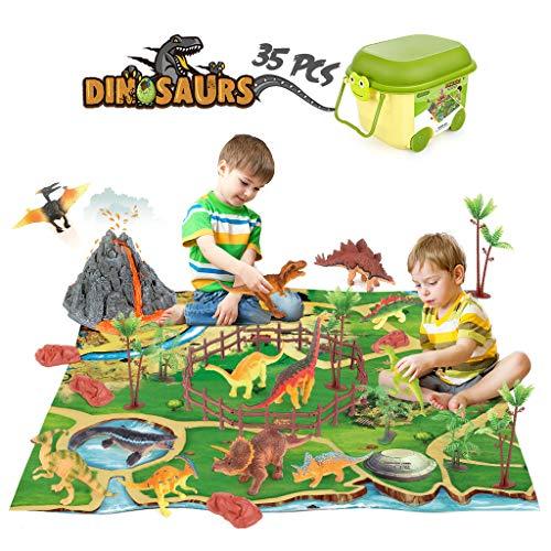 Dinosaur Toys Figure Playset wit...