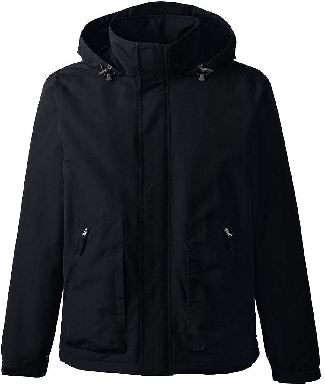 Lands' End Men's Outrigger Fleece Lined Jacket