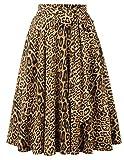 Belle Poque Falda Mujer Retro Corte en A Fiesta S