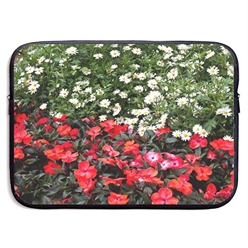 Laptop-Tasche / Laptop-Tasche, Motiv: Bagels Gänseblümchen, Balsams, Blumen, wasserdicht, 33 - 38 cm (13 - 15 Zoll), iPad, MacBook, Surface Book Notebook Ultrabook