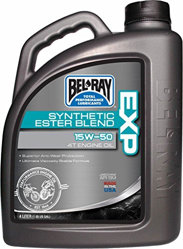 Bidon huile moteur Bel-Ray 4L 4T EXP Synthetic Ester Blend 15W50