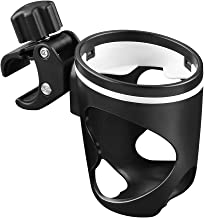 Accmor Stroller Cup Holder, Wheelchair Cup Holder, Walker Cup Holder,360 Degrees Rotation Drink Holder for Stroller, Pushchair, Walker and Wheelchair