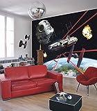 Komar 1–'Star Wars Millennium Falcon de Papel Pintado de, Multicolor, 8