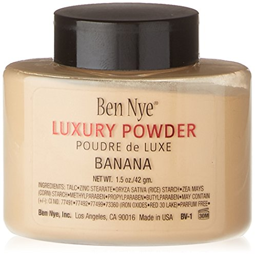 Ben Nye Banana Luxury Face Powder 1.5 oz / 42 gm Makeup Kim Kardashian Highlight by Ben Nye