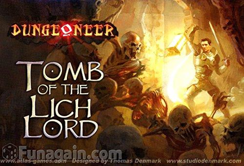 Dungeoneer 2.Edition - Tomb of the Lich Lord (Bedienungsanleitung auf Italienisch)