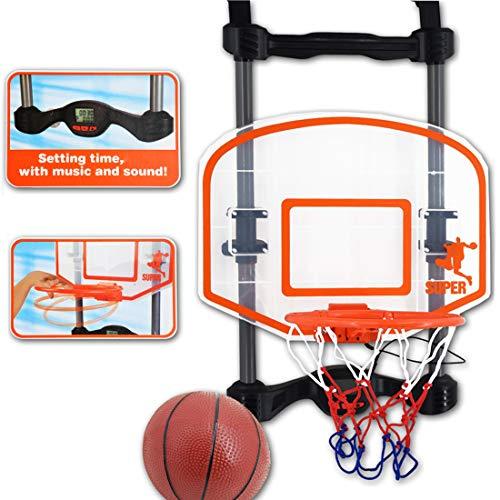 deAO Juego de Baloncesto Infantil – Tablero Para Colgar en la ...