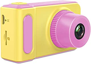 Andoer Mini Lovely Kids Digital Video Camera 2.0 Inch Display Built-in Lithium Battery with Cartoon Stickers Birthday Fest...