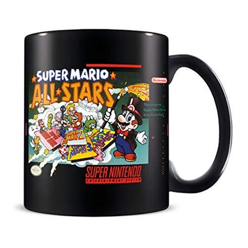 Nintendo Tasse, Keramik, mehrfarbig, 325 ml