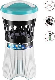 Jieer Lámpara Antimosquitos, Fotocatalizador de Lámpara Antimosquitos Lámpara Antimosquitos para Inhalación Doméstica Lámpara Antimosquitos Adecuada para la Madre Y el Bebé