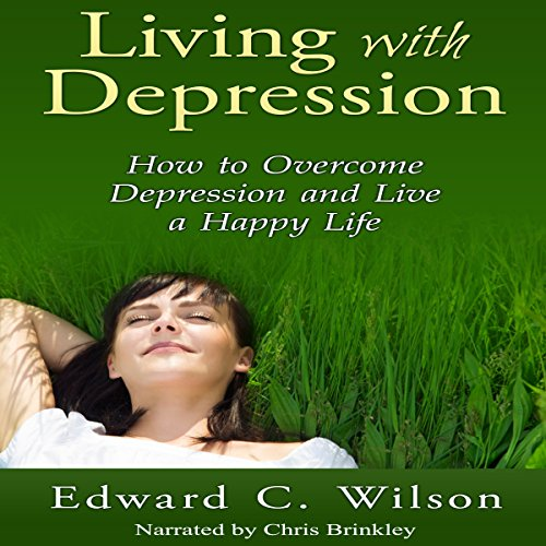 Living with Depression audiobook cover art