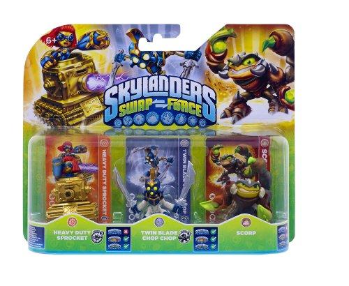 Skylanders Swap Force - Triple Pack D (Scorp, Chop Chop, Sprocket)