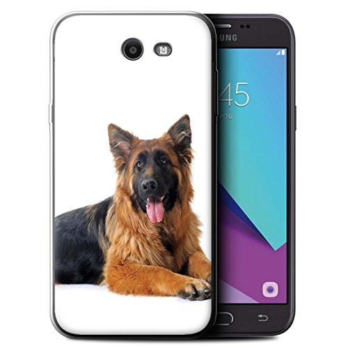 Kobalt® Printed Case for sga3-gc | Dog Collection Pastore tedesco Samsung Galaxy J7 2017/J727
