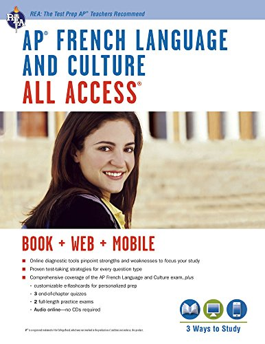 AP® French Language & Culture All Access w/Audio: Book + Online + Mobile...