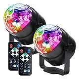 Vbakor Disco Party Lights, Sound Activated Led Strobe Lights, DJ Lights with Remote