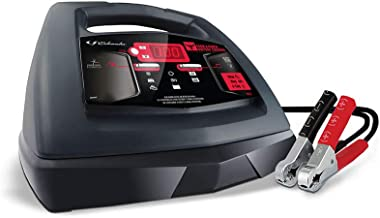 Schumacher 6/12V Fully Automatic Battery Charger and 30/100A Engine Starter with Advanced Diagnostic Testing