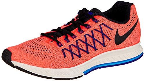 Nike Air Zoom Pegasus 32, Scarpe da Corsa Uomo, Arancione/Nero, 46.5 EU