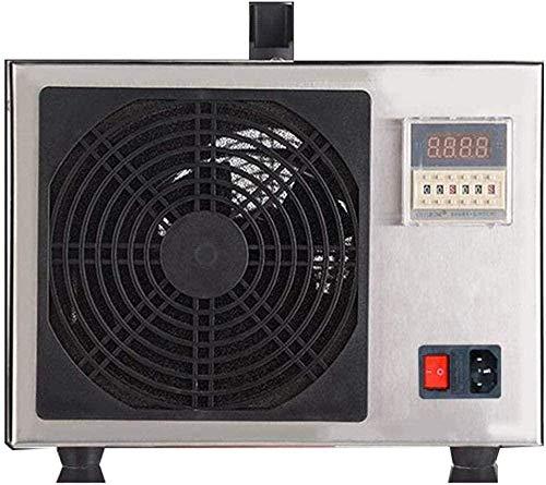 cheaaff Generador de ozono Industrial 20 g/H Purificador de Aire para Plantas en Crecimiento Talleres de Alimentos Evitar brotes de Oficina