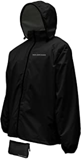 Nelson-Rigg jaqueta unissex para adultos, à prova d'água, compacta, preta, média