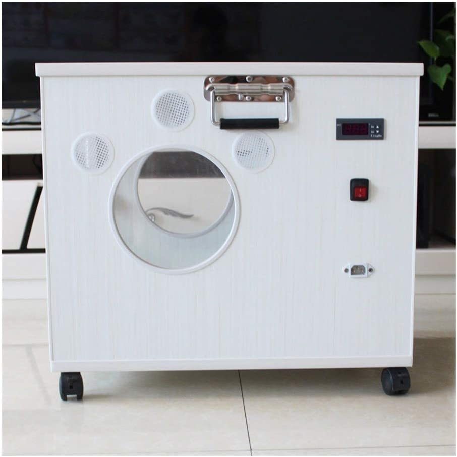 WATPET Secador de Cabello Caja automática de Secado Mascota máquina de soplado de la casa silenciosa máquina de soplado de Agua Gato de Peluche baño del Perro secador de Pelo Especial
